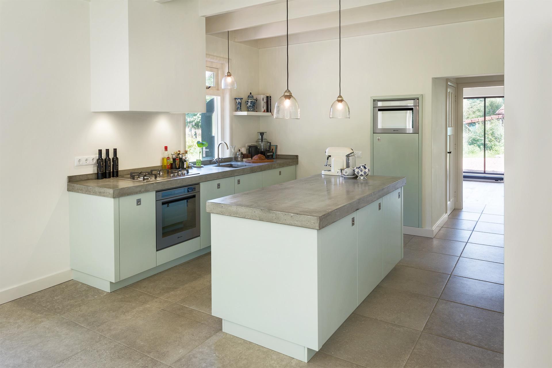 Werkplek Keuken Inrichten : Werkplek aan huis met totaalontwerp erjo maatwerk interieur