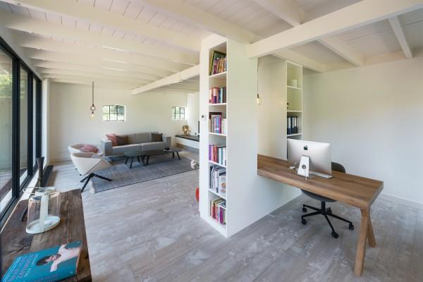 Werkplek aan huis met totaalontwerp