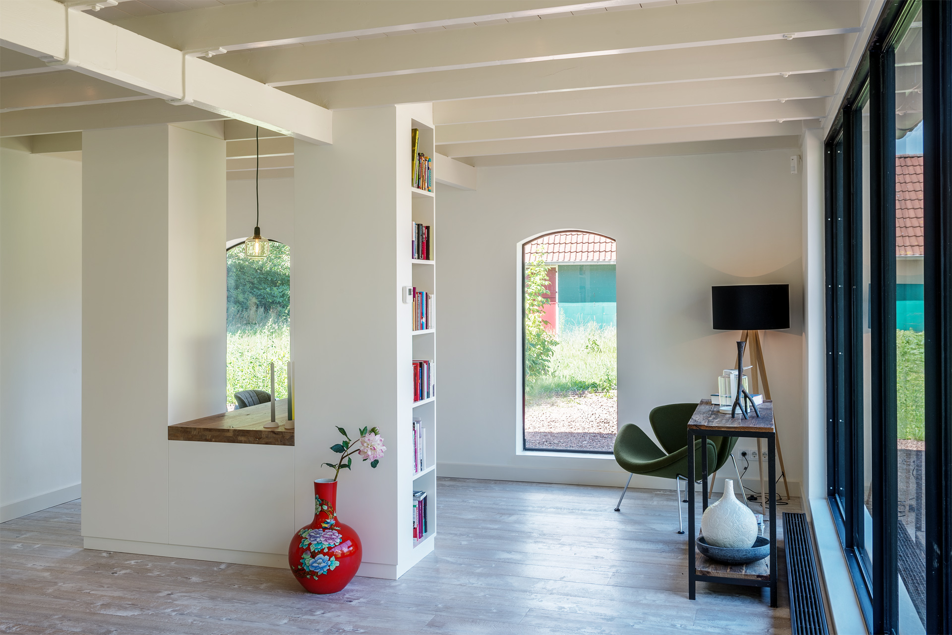Werkplek aan huis met totaalontwerp erjo maatwerk interieur - Inrichting van het terras ...